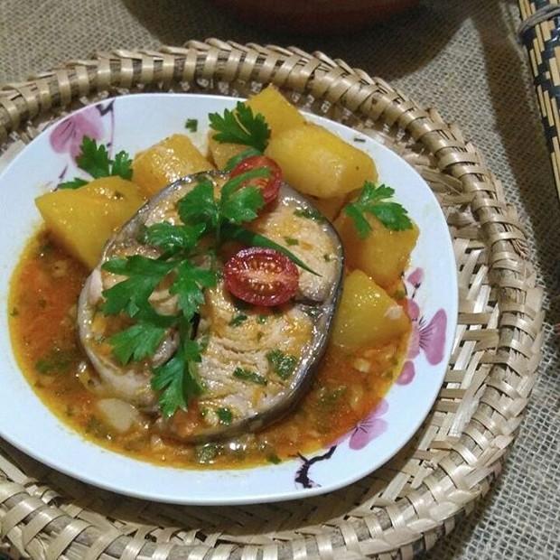Hô'e Xanena Xupu - caldo de peixe com mandioca (Foto: Reprodução Instagram)