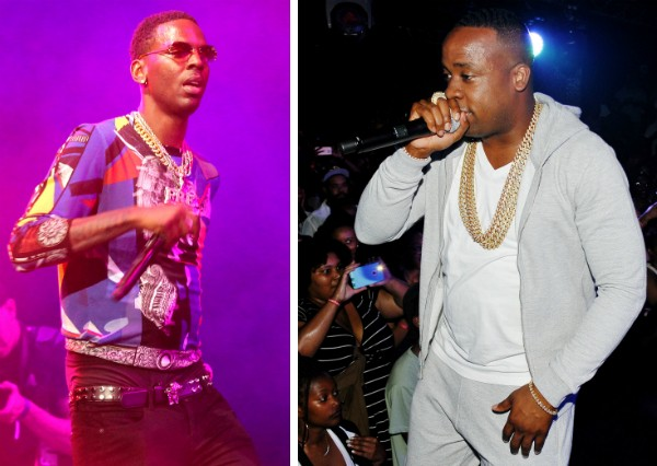 Os rappers Yo Gotti e Young Dolph (Foto: Getty Images)