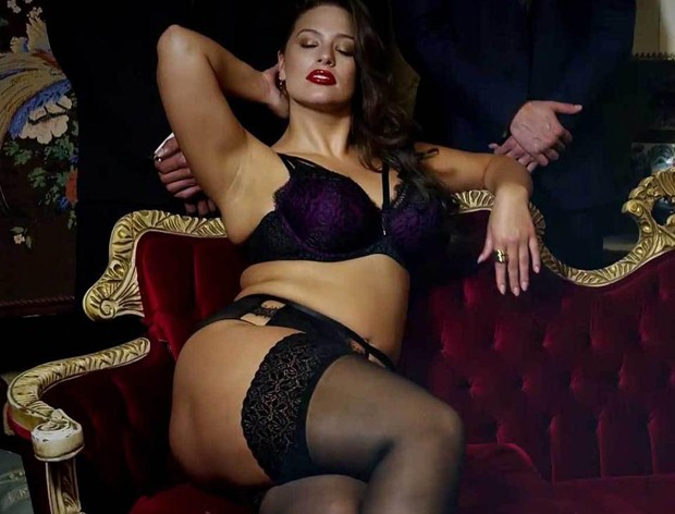 Ashley Graham (Foto: Reprodução/Addition Elle)