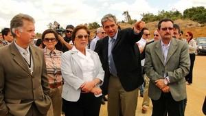 Governadora do RN visita obras do Aeroporto de São Gonçalo do Amarante (Foto: Ricardo Araújo/G1)