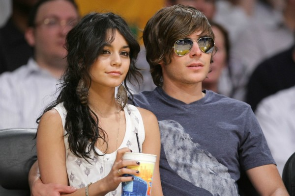 Zac Efron e Vanessa Hudgens (Foto: Getty Images)