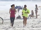 Boa forma! Giovanna Antonelli e Julia Lemmertz rodam cenas de tirar o fôlego