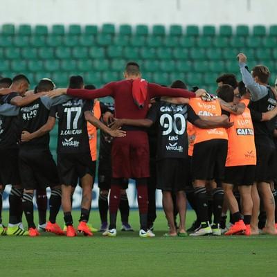 Figueirense apresenta (Foto: Luiz Henrique/Figueirense FC)