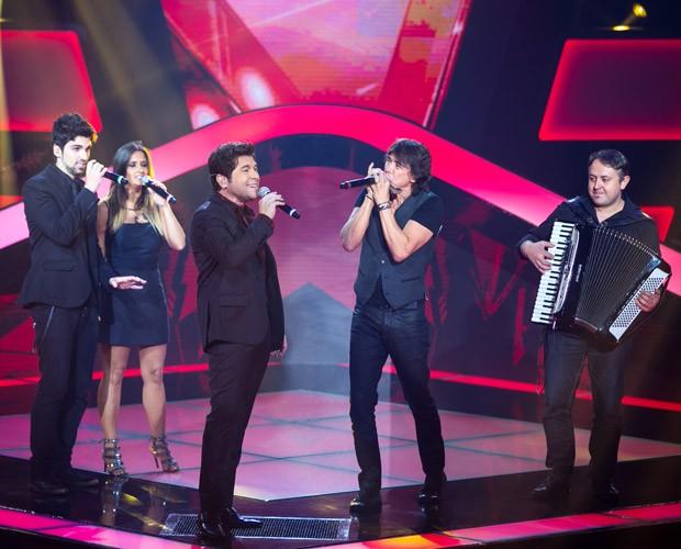 Daniel canta 'Evidências' no The Voice Brasil (Foto: Isabella Pinheiro/ TV Globo)
