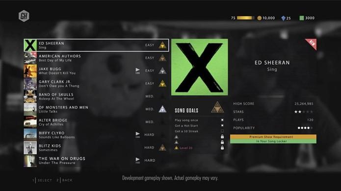 Guitar Hero Live revela suas 10 primeiras músicas para os jogadores (Foto: Reprodução/GameSpot)