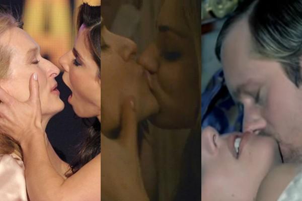 Os donos dos melhores beijos de Hollywood (Foto: Getty Images/Reprodução)
