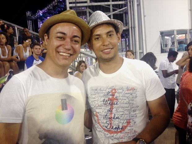 Ricardo Mendes e Petrônio Ferraz (Foto: Flávia Mantovani/G1)