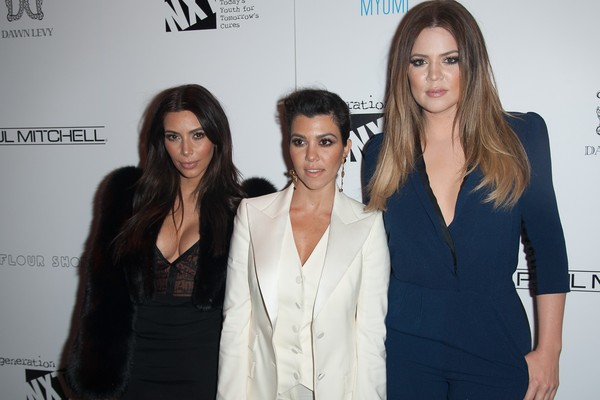 Kim, Kourtney e Khloe Kardashian (Foto: Getty Images)