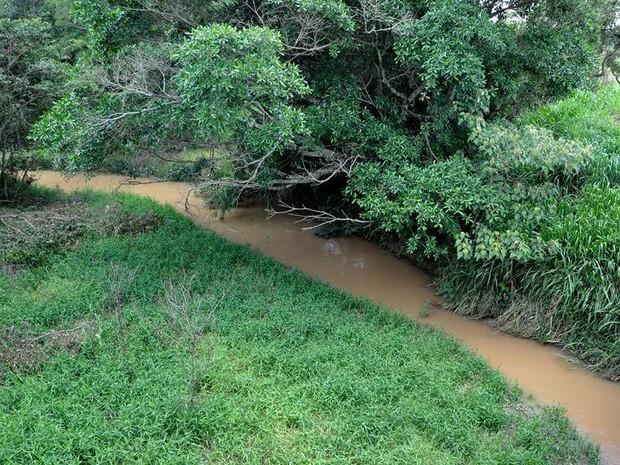 Rio Capivari não corta área urbana em Bom Despacho (Foto: Assessoria/Prefeitura)