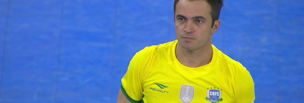 Falcão retorna à seleção brasileira e participa da goleada contra Cuba
