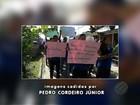 Alunos de escola pública de Anajás, no Pará, fazem protesto