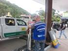 Fiscalização interdita posto com risco de explosão em Teresópolis, no RJ