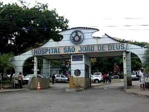 Fachada Hospital São João de Deus HSJD Divinópolis MG (Foto: Reprodução / TV Integração)