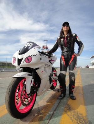 Vanessa Daya, Campeonato Brasiliense de Motovelocidade (Foto: Divulgação)