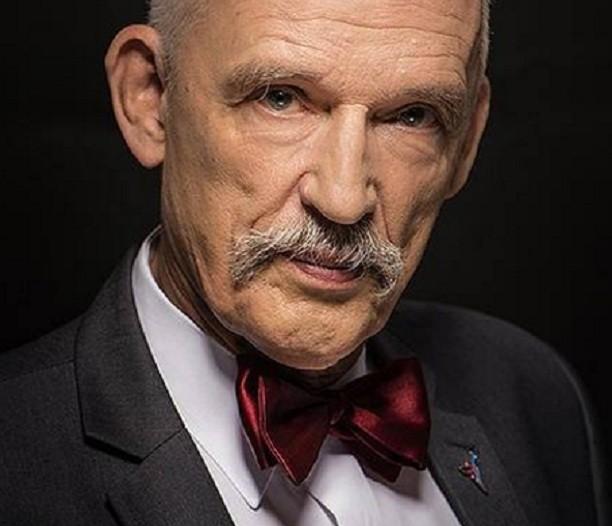 Deputado polonês Janusz Korwin-Mikke  (Foto: Reprodução Facebook )