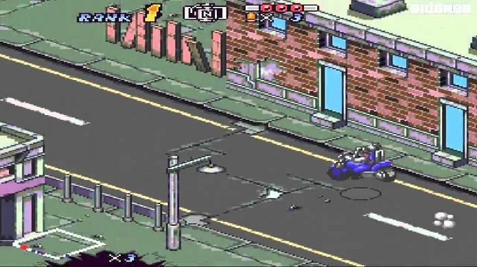 Melhores jogos de corridas do SNES: Bike Mice Mars (Foto: Reprodução/YouTube)