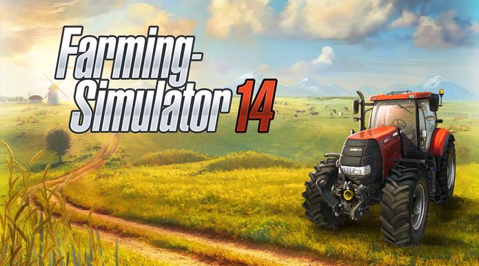 Farming Simulator 14 é a nova versão do game (Foto: Divulgação)