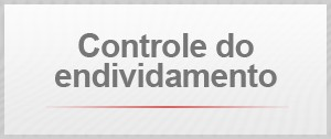 Controle do endividamento (Foto: G1)