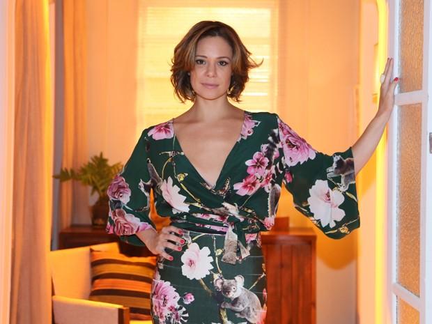 Vanessa Gerbelli exibe novo corte de cabelo, curto e mais claro, para dar vida à Marina (Foto: Isabella Pinheiro/Gshow)