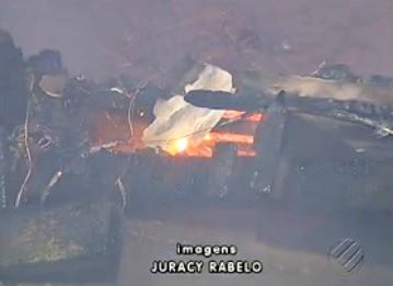 JL1: Incêndio (Foto: Reprodução/TV Liberal)