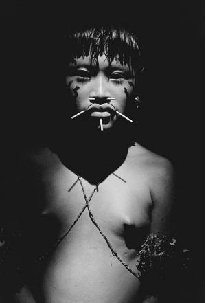 Foto tirada em Roraima, 1988, está na exposição 'Êxodos' (Foto: Sebastião Salgado)