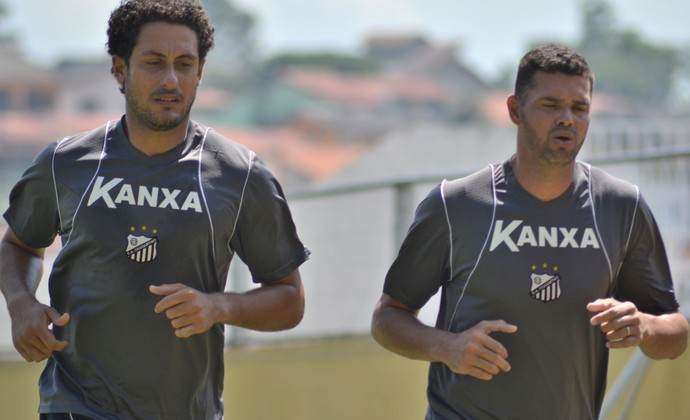 Goleiros Lauro Bragantino e Gilson Bragantino (Foto: Filipe Rodrigues)