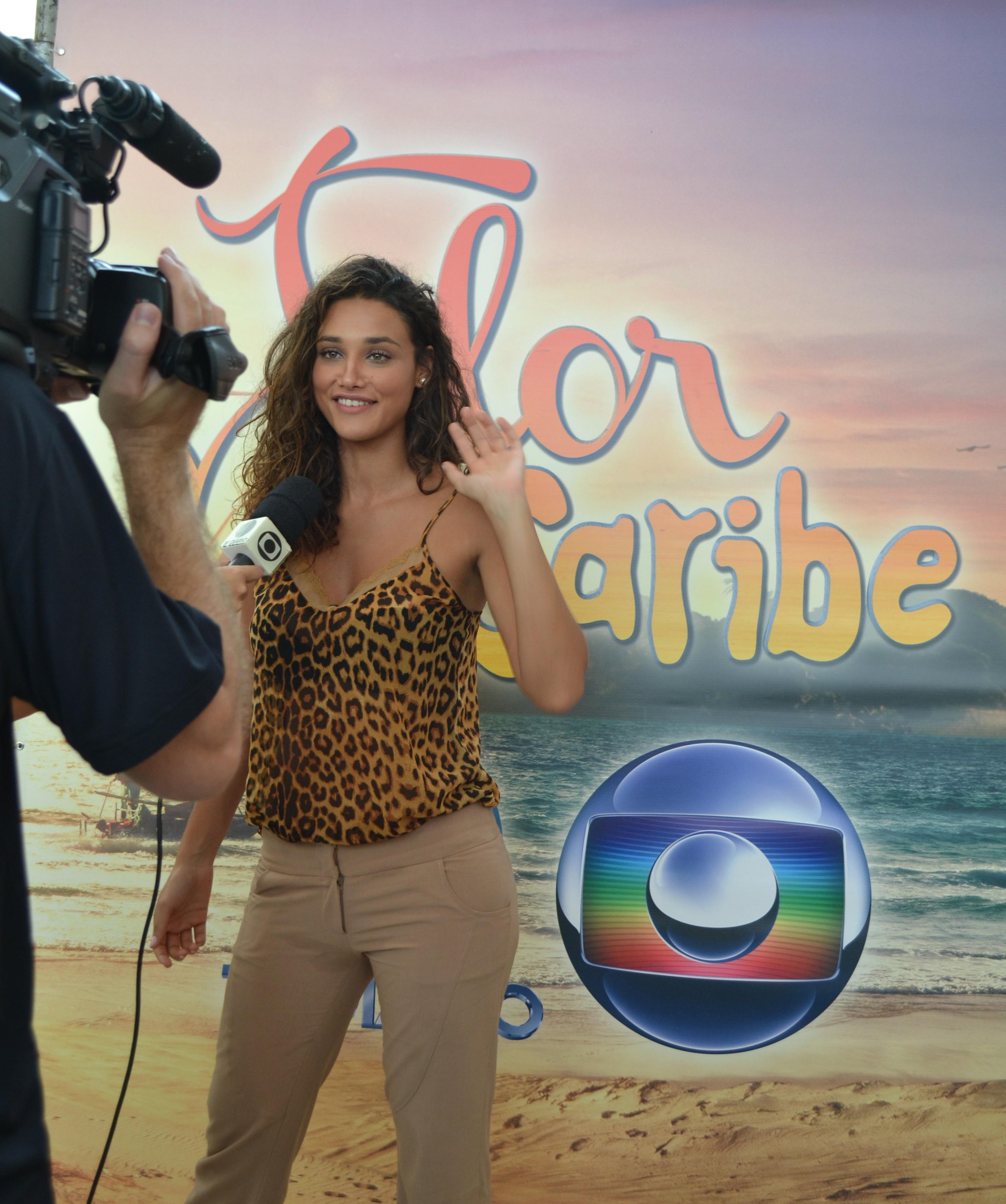 Lançamento Flor do Caribe em Suzano (Foto: Reprodução / TV Diário)