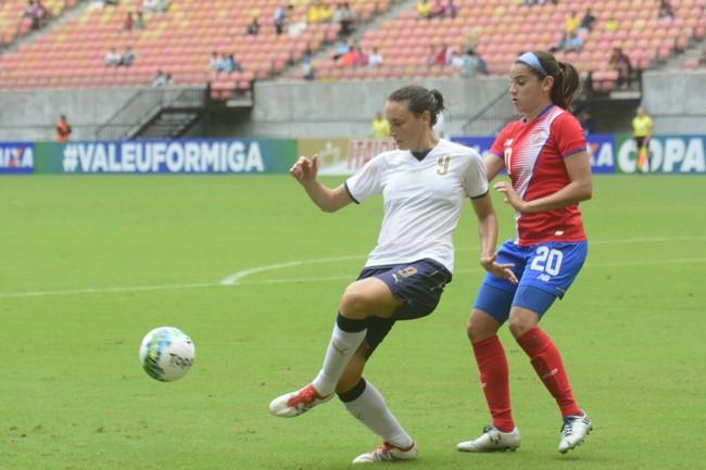 Costa Rica e Itália Torneio Internacional de Manaus (Foto: Antônio Lima/Sejel)