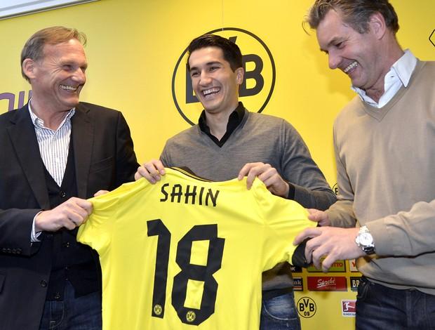 Nuri Sahin, do Borussia Dortmund, AP (Foto: Agência AP)