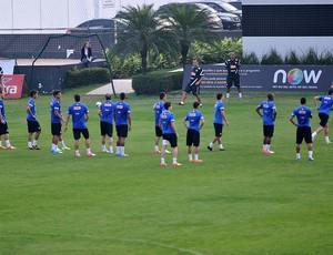 Treino Santos (Foto: Ivan Storti/Divulgação Santos FC)