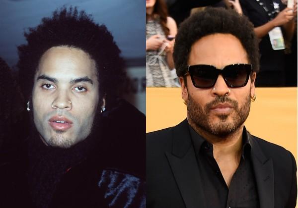 Lenny Kravitz parece ter rejuvenescido (Foto: Getty Images)