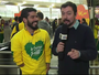 """Barbudo, Daniel Dias promete """"cara limpa"""" para lutar por medalhas no Rio"""