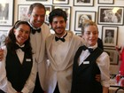Lucélia Santos e Ney Latorraca viram garçons em almoço beneficente