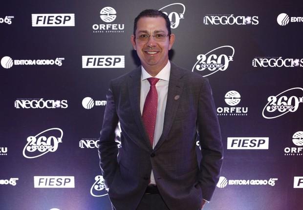 Jucelino Sousa, presidente da Usina Coruripe, durante o Época NEGÓCIOS 360° (Foto: Ricardo Cardoso)