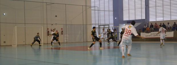Jogos Abertos 2013 - Suzano x Campinas - futsal (Foto: Rodrigo Mariano)