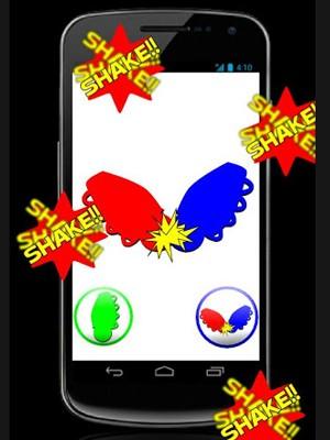 O aplicativo criado pela BEEcreative permite escolher pelo som de uma ou de duas caxirolas. (Foto: Reprodução/Google Play)