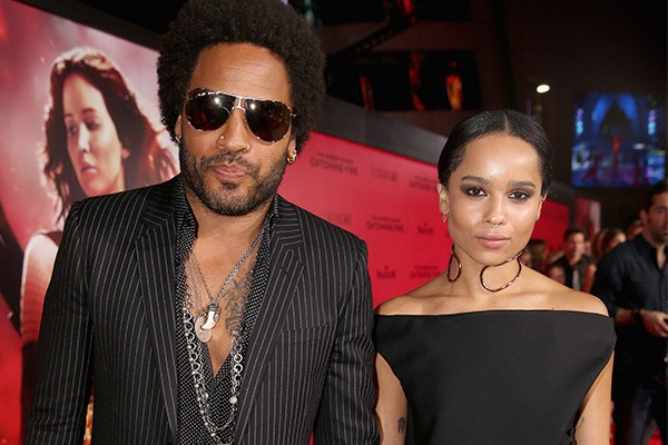 Lenny Kravitz e Zoe Kravitz (Foto: Getty Images)