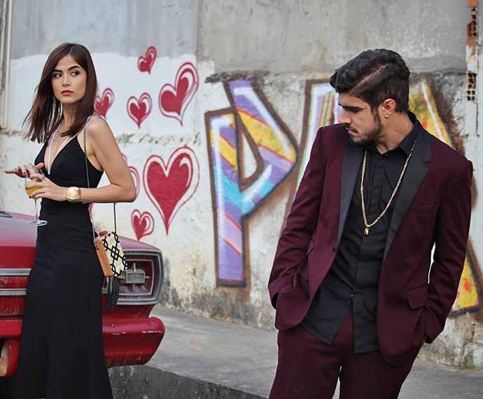 Margot e Grego vivem um amor inusitado (Foto: Rodrigo Dau/Gshow)