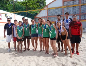 Jeal AL vôlei de praia (Foto: Adelmo Ricardo)