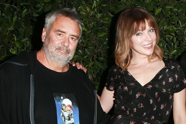 Luc Besson e Milla Jovovich (Foto: Getty Images)