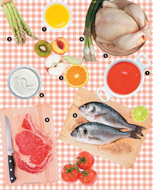 Ingredientes (Foto: Shutterstock (9), Thinkstock e divulgação)
