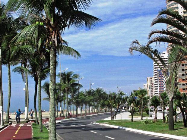 Praia Grande possui cerca de 82 km de ciclovia (Foto: Hebe Dorado/Arquivo Pessoal)