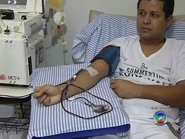 plaquetas (Foto: Reprodução / TV TEM)