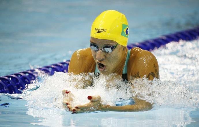 Joanna Maranhão final 400 metros Medley Pan (Foto: Reuters)
