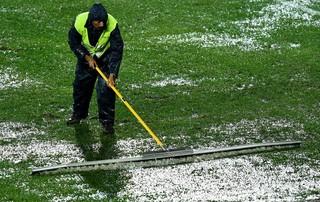 estadio chuva mundial de clubes Cruz Azul x Sydney Wanderers (Foto: Getty Images)