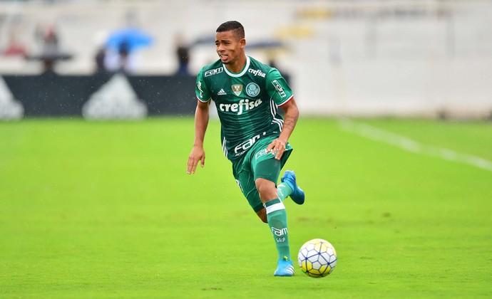 Gabriel Jesus, Palmeiras x Ponte Preta (Foto: Marcos Ribolli)