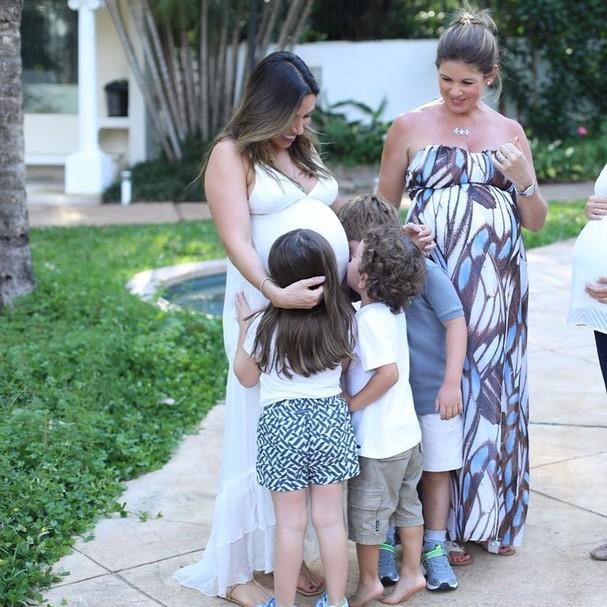 Patricia e família (Foto: Instagram/Reprodução)
