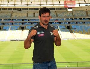 Demian Maia UFC  RJ Maracanã (Foto: André Durão)