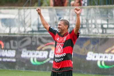 Djalminha Flamengo final brasileiro showbol (Foto: Luiz Carlos Quadro Jr/Divulgação)