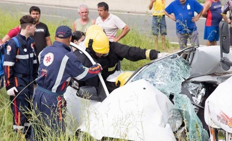 Acidente em Maracajá (Foto: Revista W3/ Divulgação)
